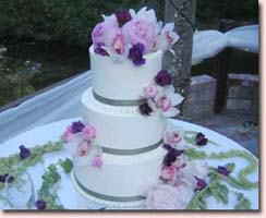 Wedding Cake Floral Arrangements